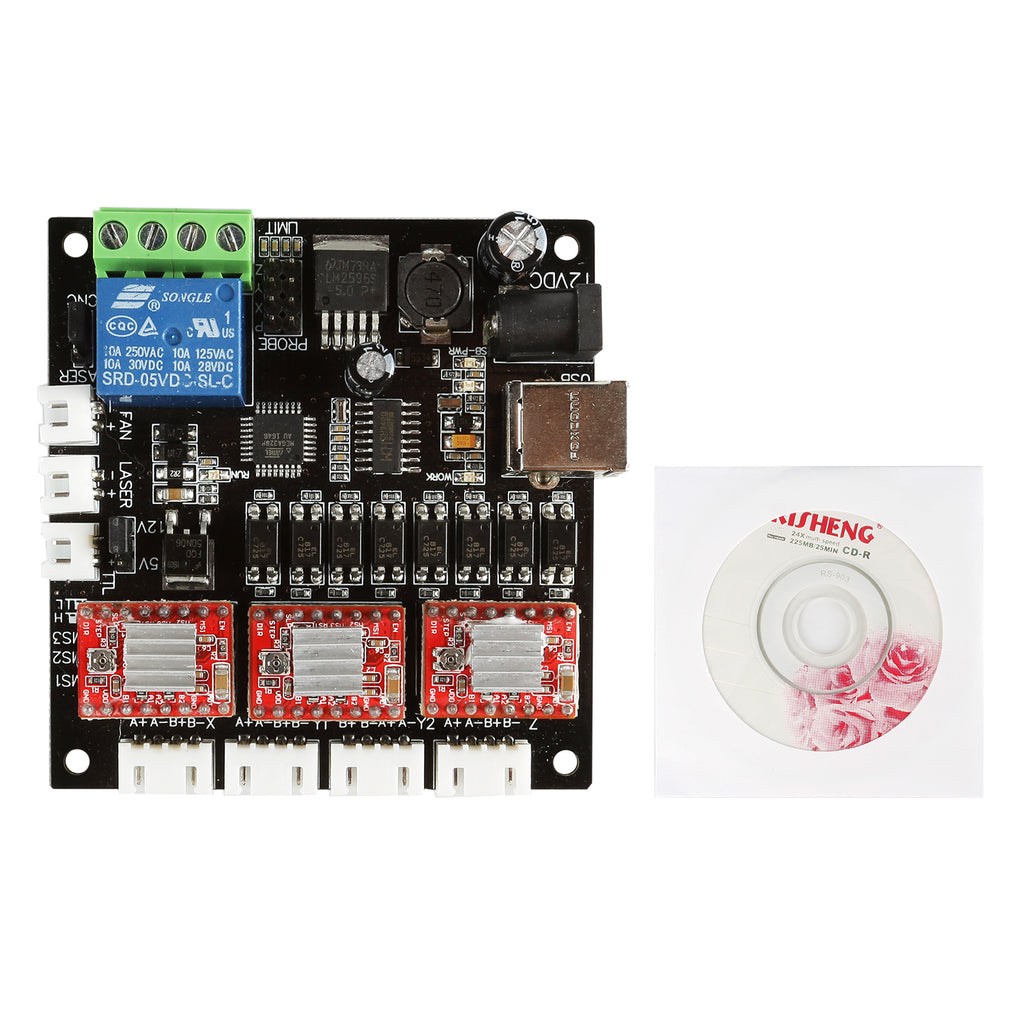 3-Axis GRBL USB Driver Controller Board