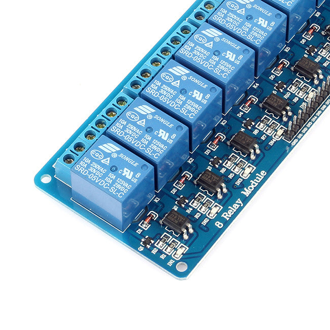 8-Channel 5V Relay Module for Arduino Raspberry Pi ... on arduino rgb led, 4 wire switch diagram, relay terminal number diagram, arduino transistor, isolating relay diagram, solid state motor starter control diagram, solid state relay diagram,