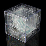 "SainSmart Jr. Amaze CB-22 Money Bank 3D Puzzle 3.5"" x 3.5"" x 3.5"" Transparent Christmas Gift"