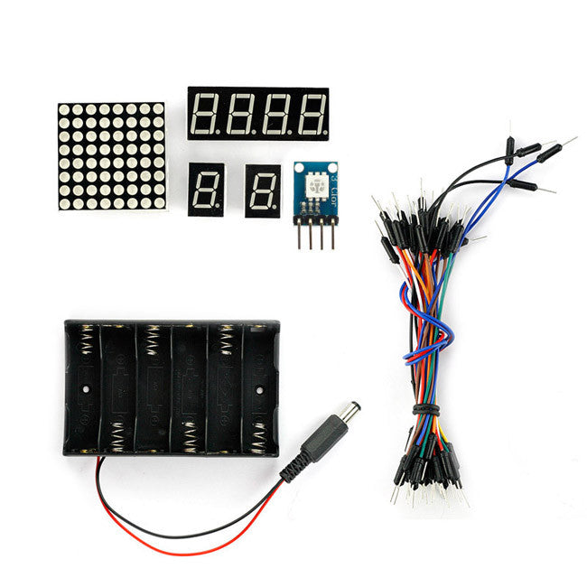 SainSmart Leonardo R3+L293D Motor Drive Shield Starter Kit With Basic Arduino Projects