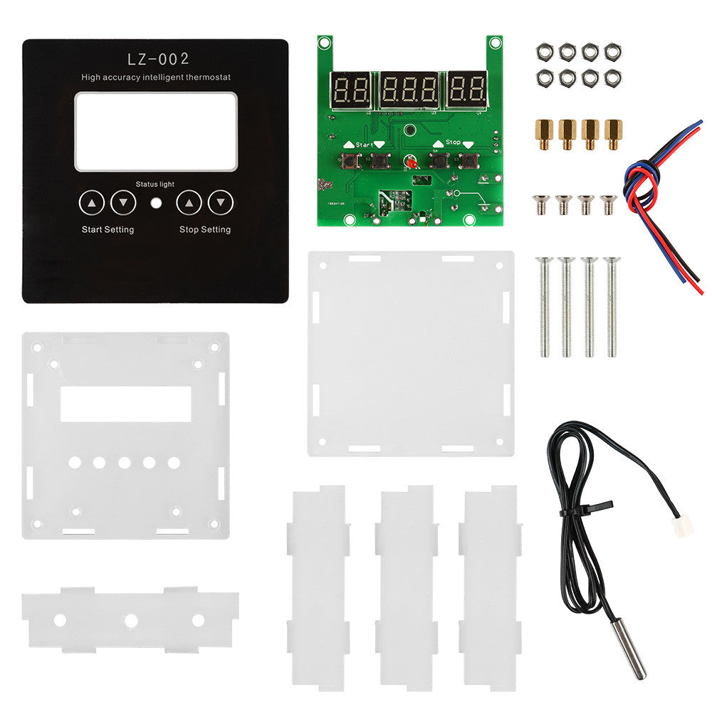 SainSmart DIY LZ-002 Digital Temperature Mircomputer Thermostat Controller Celsius Switch 110-220V