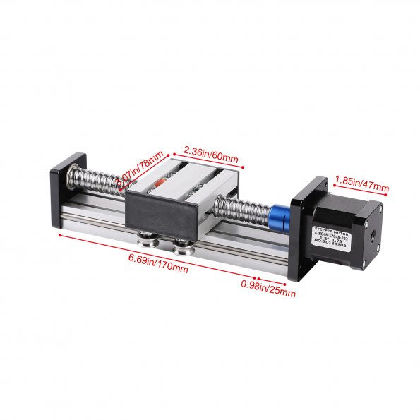 Linear Stage Actuator with Nema17 Stepper Motor for CNC Router