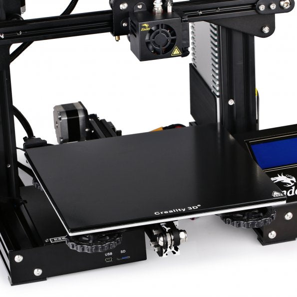 Creality3D Ender-3 3D Printer Tempered Glass Heated Bed