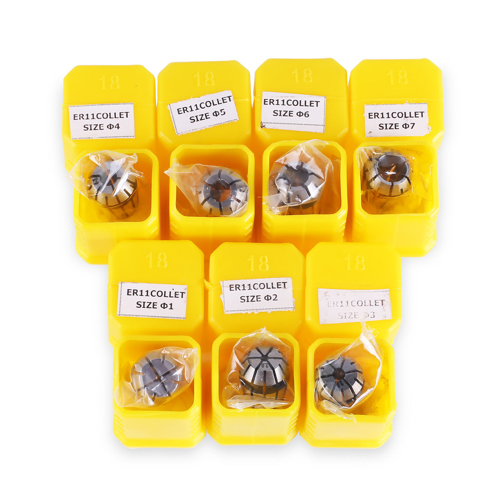 SainSmart ER11 Spring Collet Set 1.0mm-7.0mm