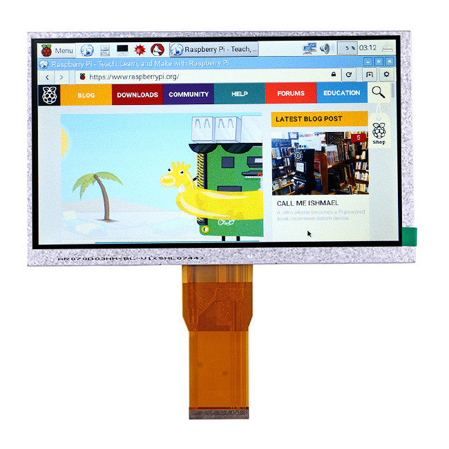 Best 7 Inch TFT LCD Display Monitor For Raspberry Pi +