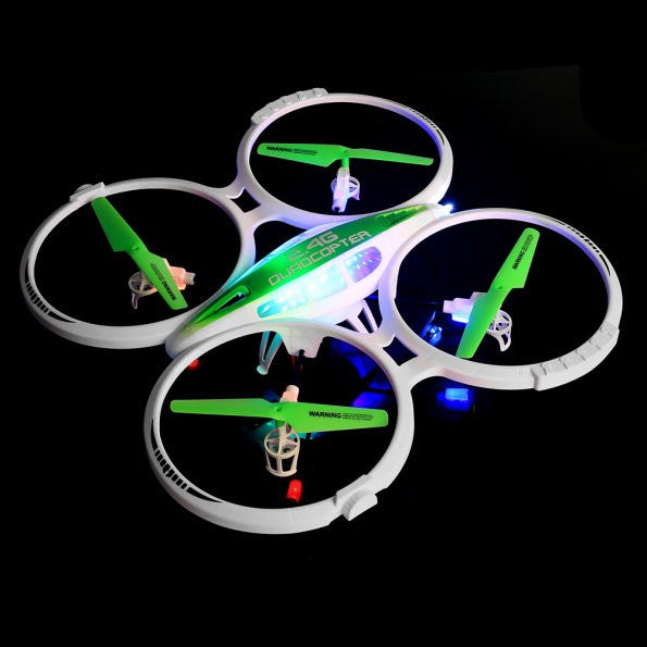 SainSmart Jr. LS-125 2.4GHz 4CH 6 Axis Gyro RC Quadcopte Mode 2 EU