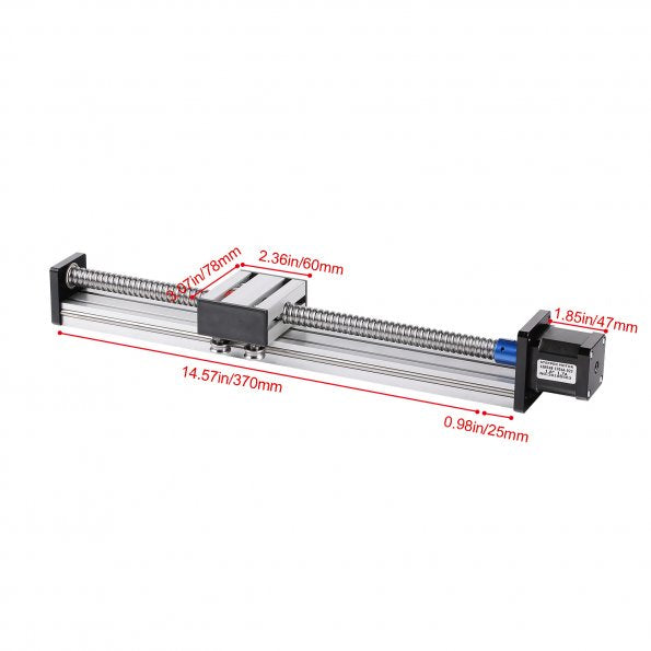 Linear Stage Actuator with Nema17 Stepper Motor for CNC