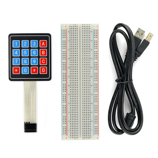 [Discontinued] SainSmart UNO R3+Keypad Kit With Basic Projects for Arduino
