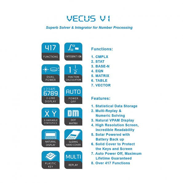 SainSmart Vecus V1 Science Calculator – SainSmart.com