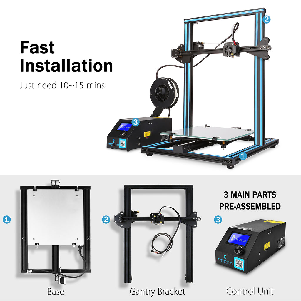 SainSmart x Creality3D CR-10S 3D Printer