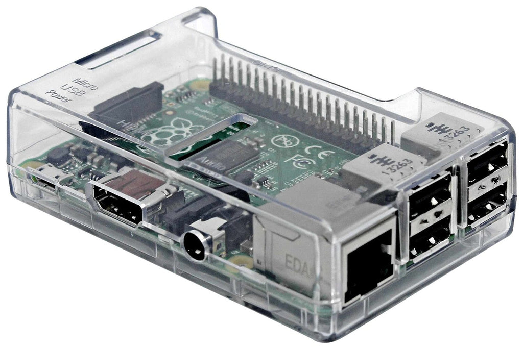 Premium Case for Raspberry Pi 3 Model B Quad Core/ Pi 2 Model B/ Pi Model B+