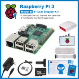 "SainSmart Raspberry Pi 3 Ultimate LCD Kit : 5"" LCD + Case + SD Card + Breadboard + HDMI + GPIO + Aluminium Heatsink + USB Power Supply"