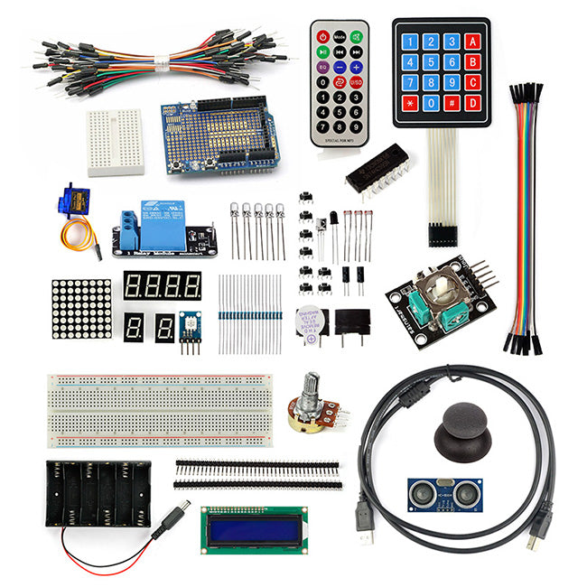 Advanced Starter Kit for Arduino