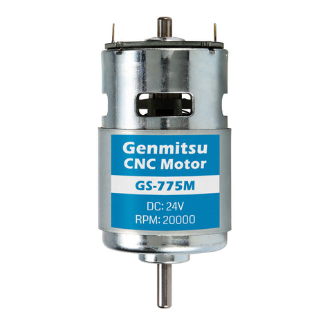 Genmitsu GS-775M 24V 20,000 RPM Motor + Motor Noise Suppression