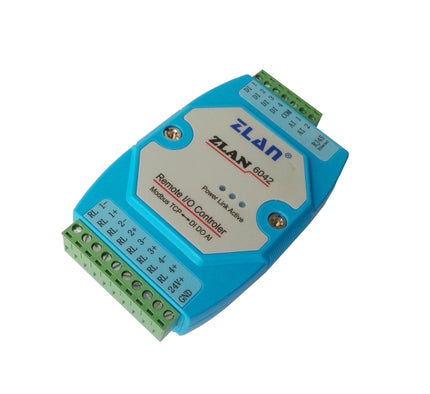 Remote Network IO Controller Ethernet RS485 Communication Converter, ZLAN6042