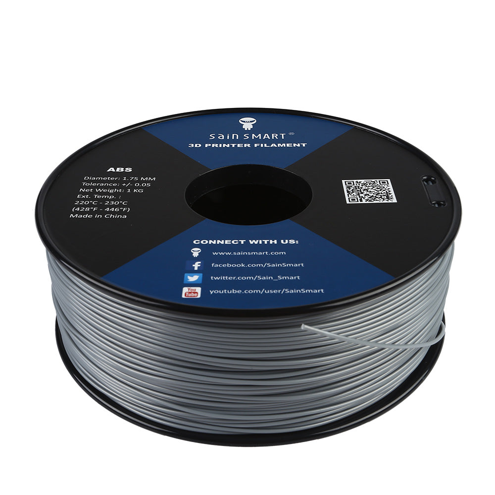 All Colors, ABS Filament 1.75mm 1kg/2.2lb