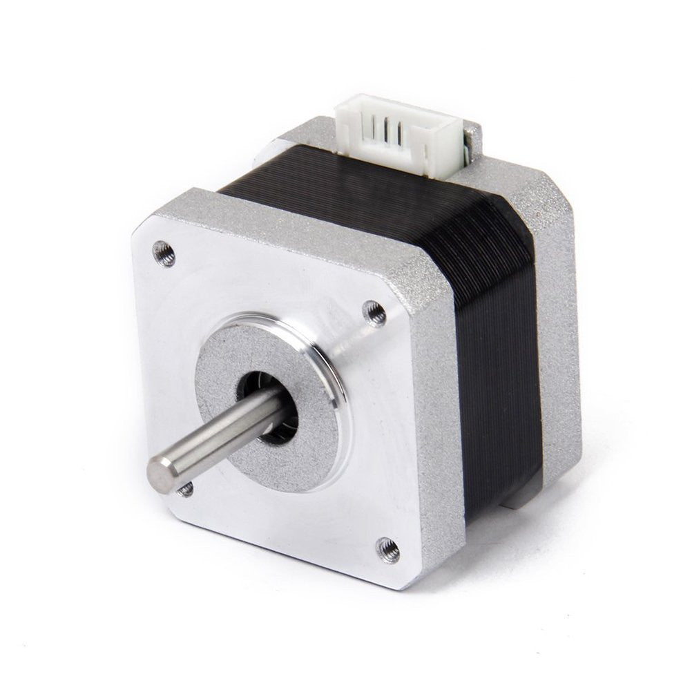 Nema 17 2 phase 4 wire 1 2a 34mm 1 8 stepper motor for 3 phase stepper motor