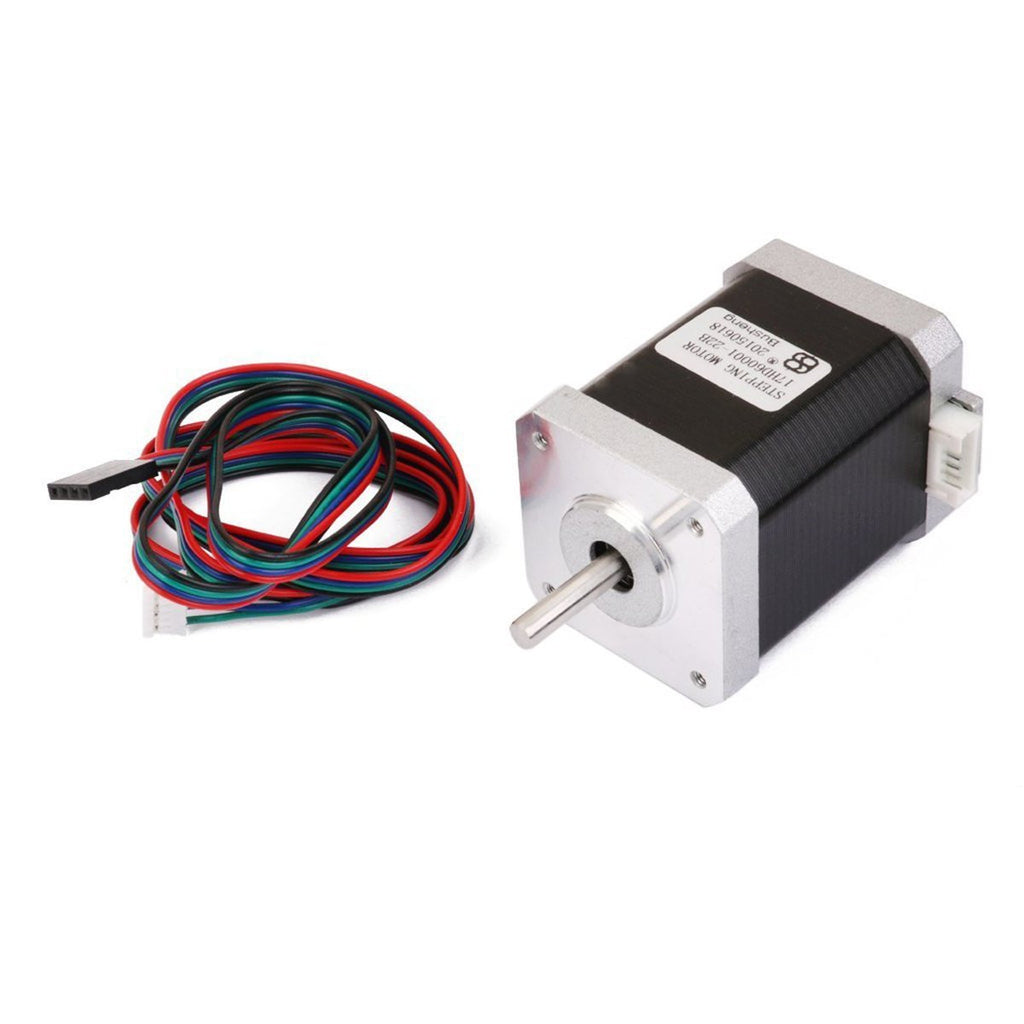 NEMA-17 2-Phase 4-Wire 1.5A 60mm 1.8° Stepper Motor for 3D Printing & CNC