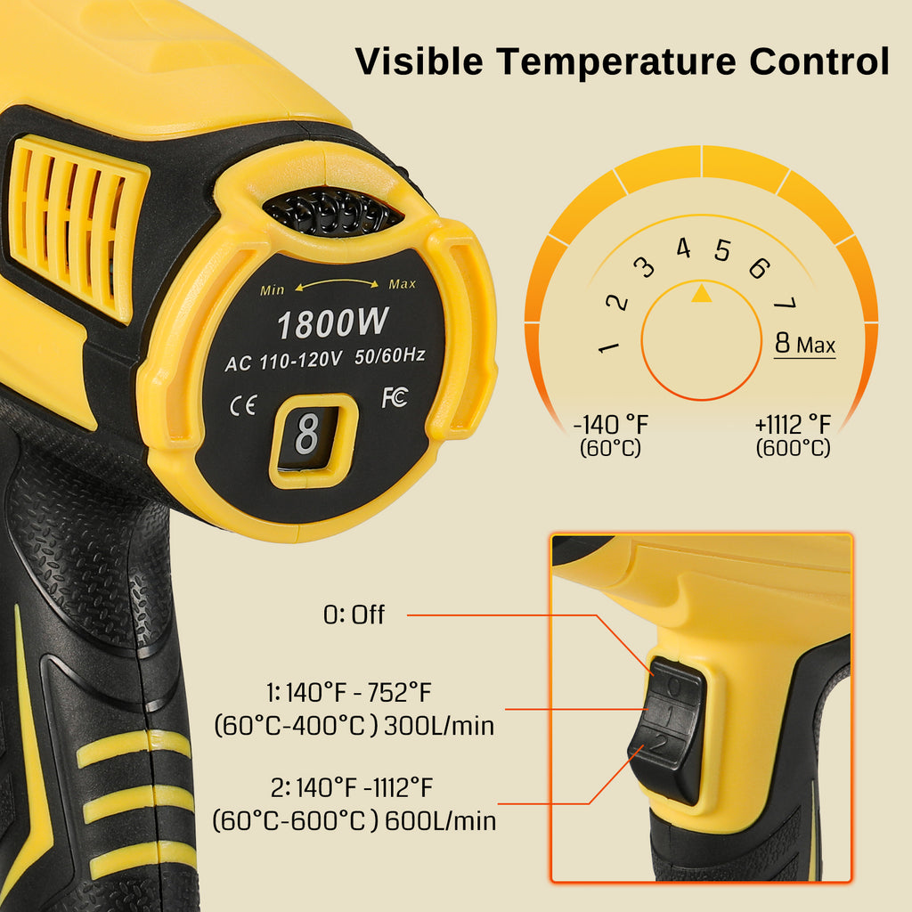 Rechargeable Cordless Electric Screwdriver, 1/4