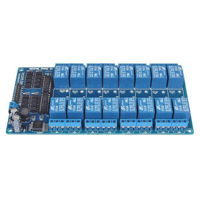16-Channel 12V Relay Module – SainSmart.com