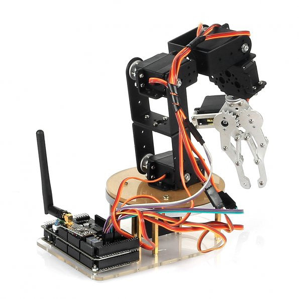 6-Axis Mechanical Desktop Robotic Arm – SainSmart.com