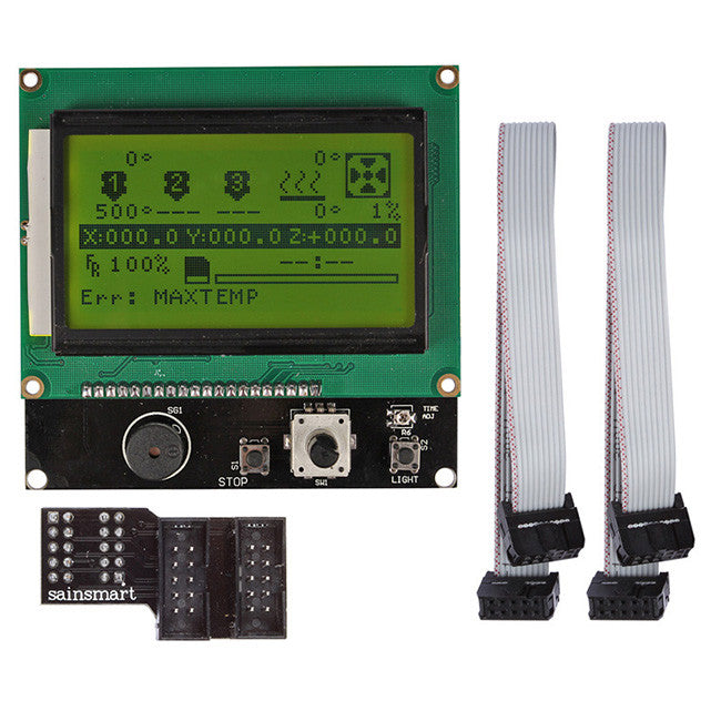 Megatronics V2.0 + A4988 + Mega2560 R3 + LCD 12864 3D Printer Controller Kit For RepRap