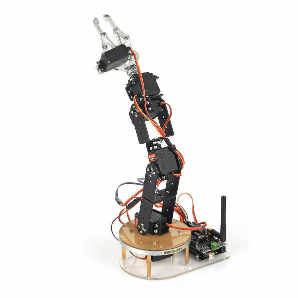 6-Axis Mechanical Desktop Robotic Arm, Frame & Servo Kit