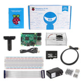 SainSmart Raspberry Pi 3 Ultimate Kit : Case with Fan + 8GB SD + Breadboard + HDMI + 40 Pins GPIO +Aluminium Heatsink