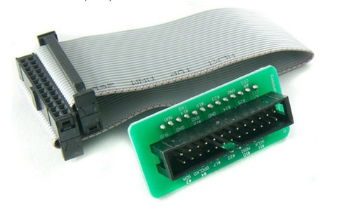 New Complete GPIO breakout header for Raspberry Pi with 26 pin cable easy use