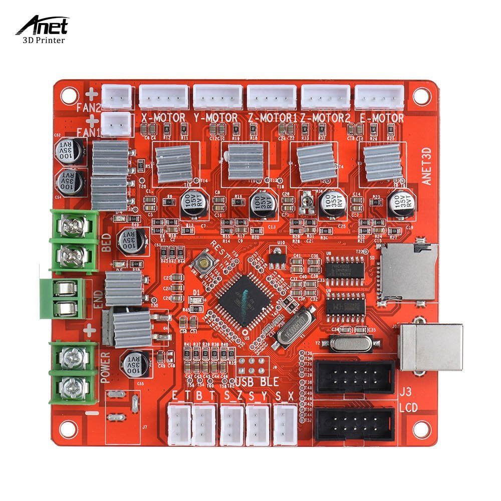 3D Printer Accessories Motherboard Control Board for Anet A8 RepRap i3 Kit BEST