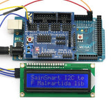 SainSmart MEGA, ATmega2560 + Sensor Shield V5+IIC/I2C/TWI 1602 Serial LCD Module Display For Arduino UNO MEGA