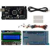 SainSmart Mega2560 R3+1602 LCD Keypad Shield+Prototype Shield V3 Kit For ATMEL ATMEGA8U2 AVR