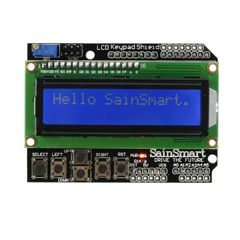 [Discontinued] LCD Keypad Shield For Arduino Duemilanove Uno Mega 2560 Mega 1280