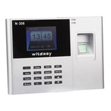 "N-308 2.8"" TFT Biometric Fingerprint Attendance Time Clock Employee Payroll Recorder"