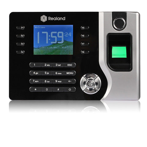 Biometric Fingerprint Attendance Time Clock + Id Card Reader + Tcp/ip + Usb
