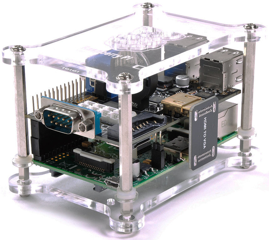 Case for X100 Function Expansion Board for Raspberry Pi B