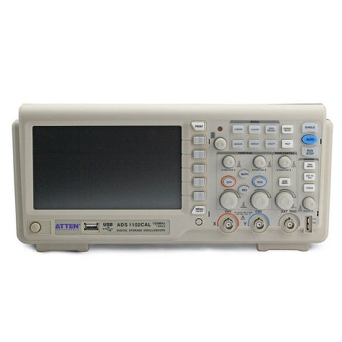 ATTEN ADS1102CAL 100MHz 1G Digital Oscilloscope *New Model with 7