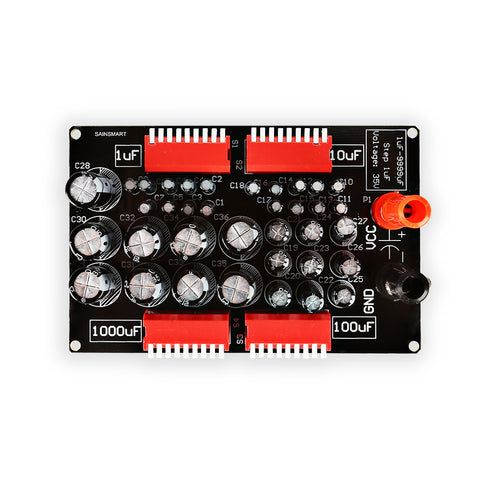 Programmable Capacitor Board, 1uF to 9999uF