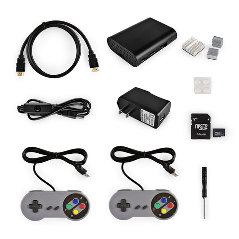 RetroPie Game Station Kit 32GB for Raspberry Pi 3