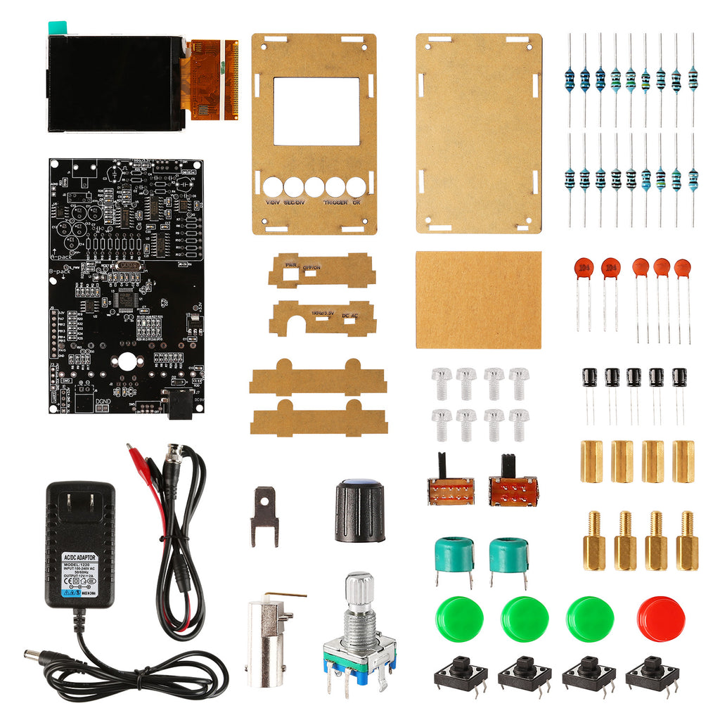 DSO320 1-Channel Mini Oscilloscope DIY kit