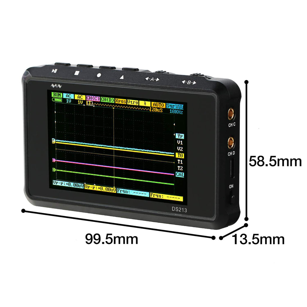 SainSmart DSO213 4-Channels Handheld Mini Digital Oscilloscope