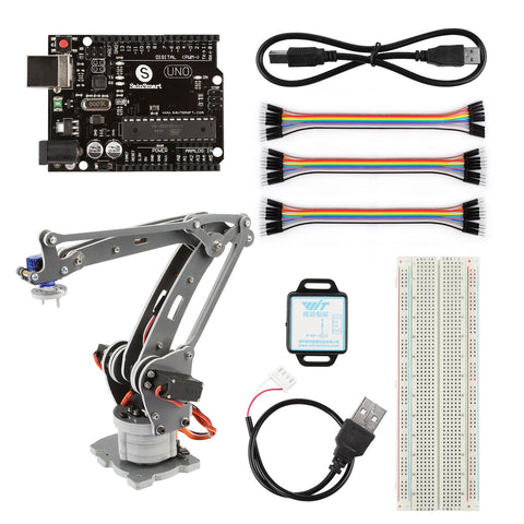 Motion Control 4-Axis Robotic Arm