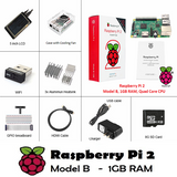 "Raspberry Pi 2 Model B LCD Starter Kit - Case, 5"" LCD, HDMI + Accessories"