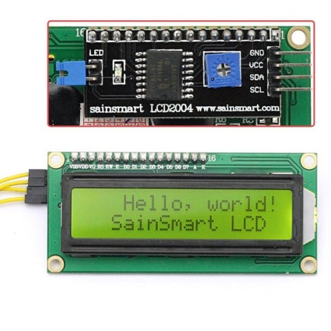 16x2 IIC/I2C/TWI Serial LCD Display
