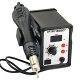 New ATTEN AT 858D 220V SMD Hot Rework Digital Station Air Solder Blower Gun 220V UK