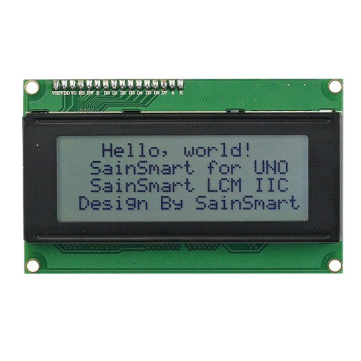 20x4 IIC/I2C/TWI Serial LCD Display for Arduino