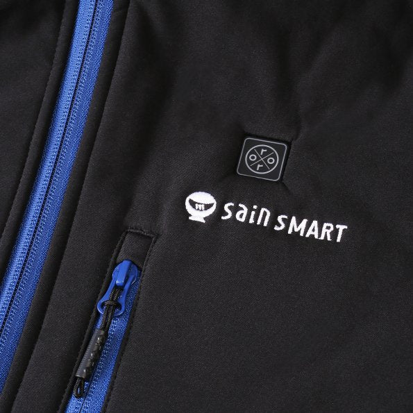 SainSmart x ORORO Men's Heated Jacket with Detachable Hood and Battery Pack