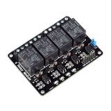 OMRON 4-Channel 12V Optocoupler Relay Module