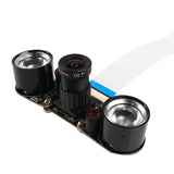 Infrared Night Vision Surveillance Camera + 2-Pcs Infrared Lights for Raspberry Pi