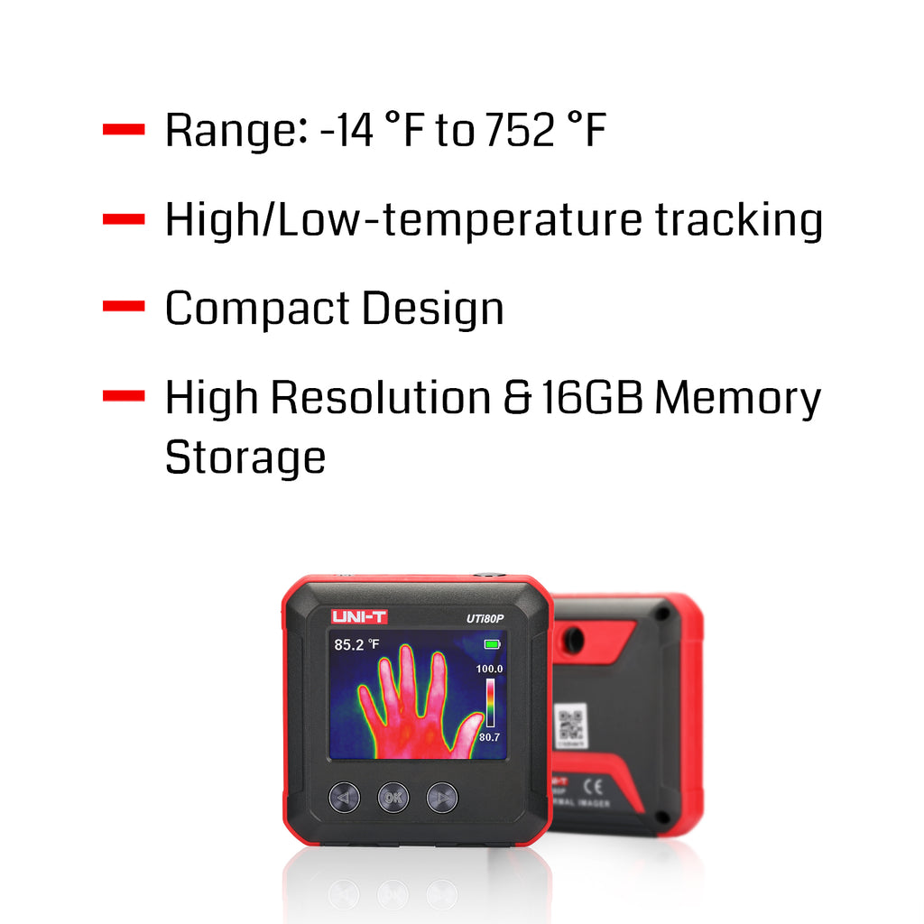 UNI-T UTi80P Mini Infrared Thermal Camera